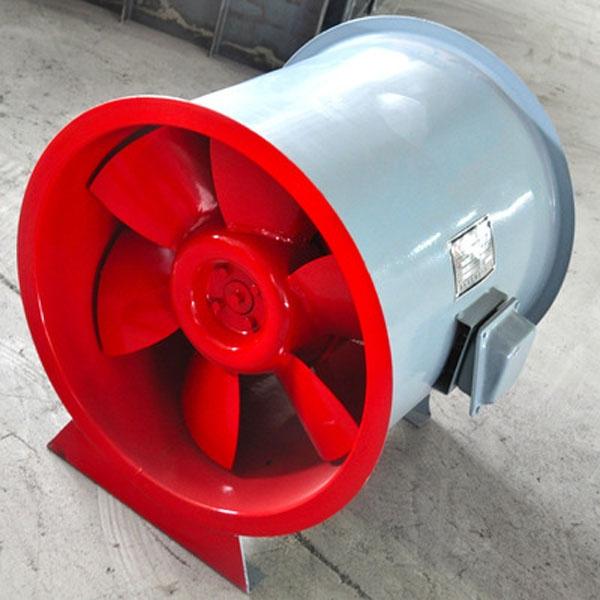 消防排烟风机的使用在消防中的重要性。